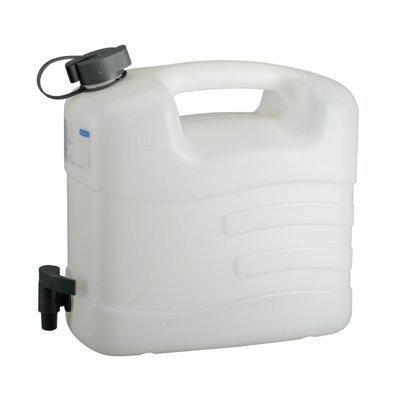 PRESSOL Wasserkanister Polyethylen mit Ablasshahn Inhalt 10 Liter, 1 Stück,21163