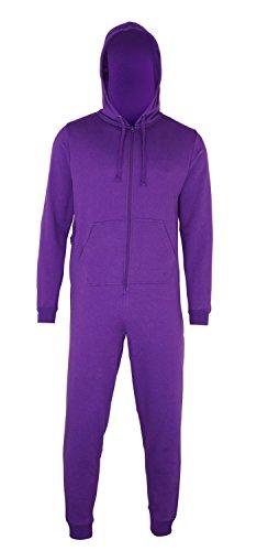 Sofasurfer® Overall Sweatoverall Jumpsuit Jumper mit und ohne Druck Purple