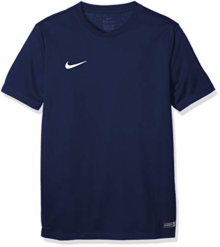 Nike Kinder Park Vi Trikot,725984-410,Blau (Midnight Navy / Blanco),M - Nike Blaues T-shirt