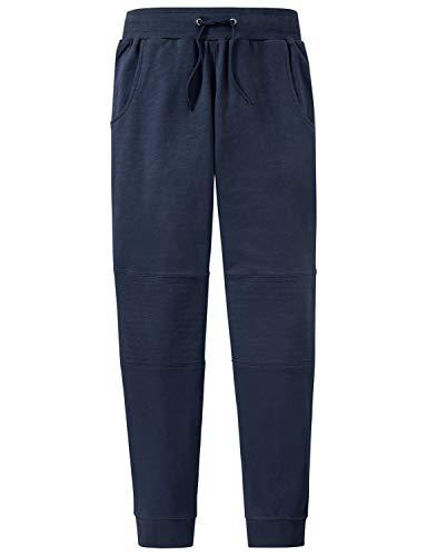 Schiesser Jungen Mix & Relax Sweatpants Schlafanzughose Blau 800, 164 (Herstellergröße: M)