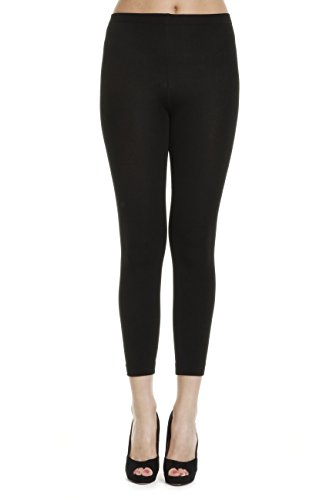 31%2B6ct3H4TL - Simply Gorgeous Black Warm Thick Full Thermal Leggings - UK Size 6