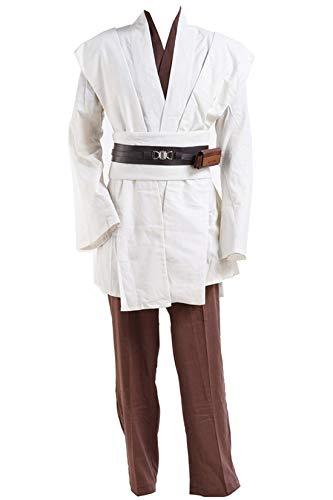 Wan Kostüm Erwachsene Obi Für - Manfis Herren Kostüm - Kostüm Luke Fasching Filmheld