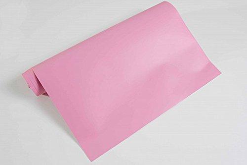 NEOXXIM - Plotterfolie Matt 25- blass rosa - 200 x 106 cm -Plotter Folie Möbelfolie matt oder Matt viele Farben Größen wählbar