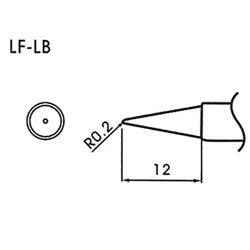 AOYUE WQ/LF-LB Pointe à souder conique R0.2mm Fer à Souder Station de Soudage