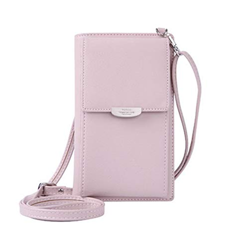 136f3fdd9db9 VCBBVG Women Wallet Purse Shoulder Bag PU Leather Coin Cell Phone Mini Cross-Body  Bag