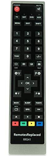 RemotesReplaced Ersatzfernbedienung kompatibel mit Philips 75PUS7101