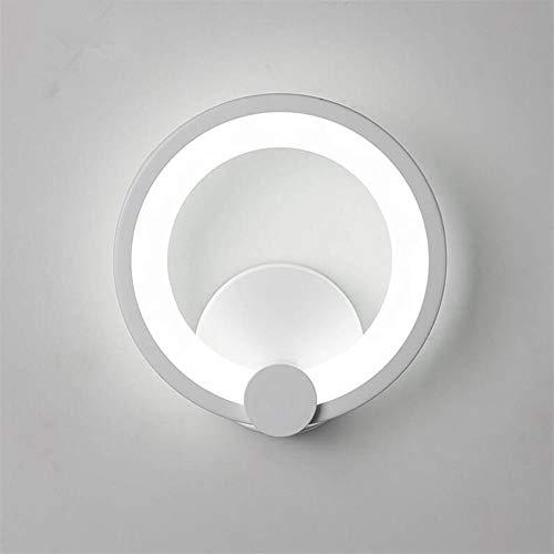 HZHYYW - Lámpara pared LED Lámpara pared acrílico