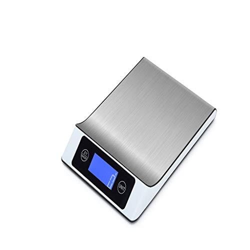 MAYOGO Kapazität5kg/Genauigkeit1g,Digitalwaage Küchenwaagen Küchenmaßwerkzeuge Edelstahl Elektronische Waagen