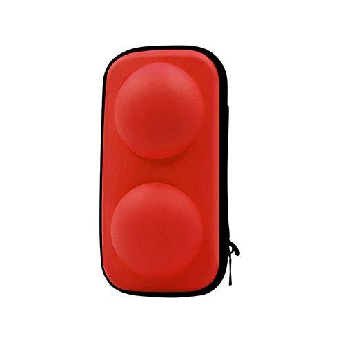 für Nintendo Switch Poke Ball Plus Controller Eevee Game Bag hülle, 2in1 Pokeball Tragetasche Schutzhülle Tragbare Reise Zubehörtasche Tasche Cover Schutzhülle Hülle Tragetasche - Game-controller-bag