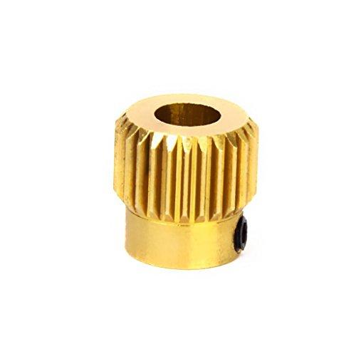 2X Extruder Zahnrad - 26 Zähne Drive Pulley - 1.75 / 3mm Filament - 5mm - RepRap / 3D Druck