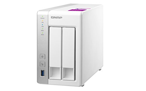 QNAP TS-231P2 1 GB Powerful and Affordable 4 Bay Network Attached Storage