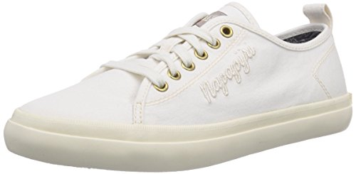 NAPAPIJRI FOOTWEAR Erin, Low-Top Sneaker donna, Bianco (Weiß (off white N20)), 39