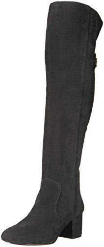 Nine West Damen Queddy Langschaft Stiefel, Schwarz (Black), 38.5 EU (6.5 UK)