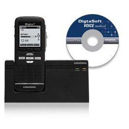 Preisvergleich Produktbild DigtaSoft Voice medical Mobile Set (SDM7034-72DE), Spracherkennung, digitales Diktiergerät und Diktiersoftware