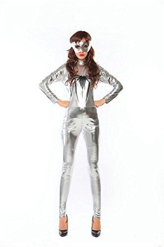 Overall Cosplay Kostüm Erwachsene weibliche Spider-Man One Piece Rollenspiel Singer Kostüm Wetlook Catsuit ()