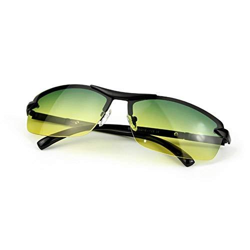 Polarisierte Sport-Sonnenbrille, Tag Nacht Dual-Zweck-Sportbrille Für Frauen Und Männer, Sport-Augenschutzbrille Anzug Zum Laufen Radfahren Angeln Golf