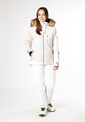 CNSRD Jilian Winterjacke Damen white ash