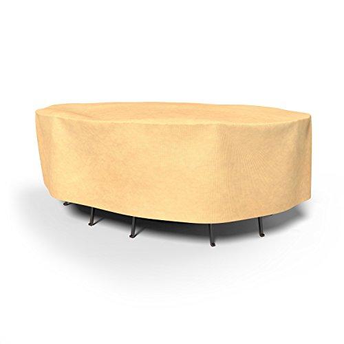 umwirft Vierjahreszeiten-Oval Patio Tisch und Stühle Combo Cover p5a17bg1 (Veranda, Patio Set)