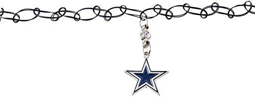 Siskiyou NFL Dallas Cowboys geknotet Choker, schwarz, Stretch (Tattoos Dallas Cowboys)