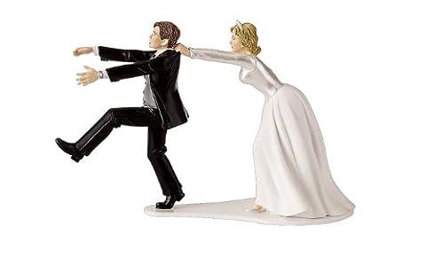 Wilton Figurine de mariés humoristique