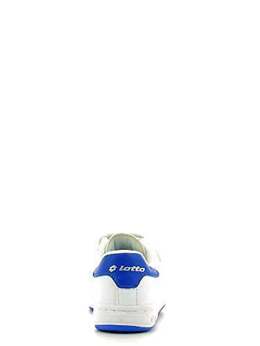 Lotto - 1973 Ii Cl Sl, Scarpe sportive Unisex – Bimbi 0-24 Multicolore (Blanco / Azul (Wht / Blu Pac))