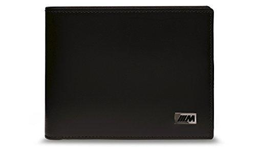 Preisvergleich Produktbild BMW Original M Collection Stilvolle Wallet Rindsleder mit Münzfach 80212454761