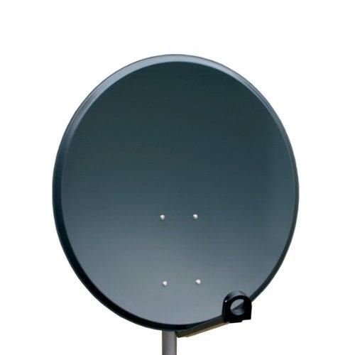 Antenne 60cm PremiumX PXA60 Sat Schüssel aus ALU FullHD HDTV Satelliten Spiegel 60 cm Anthrazit