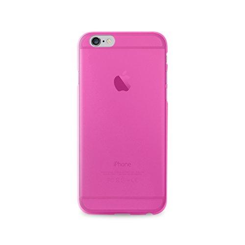 Puro Back Case Ultra Slim 0.3 Schutzhülle (für Apple iPhone 7+) Transparent rosa