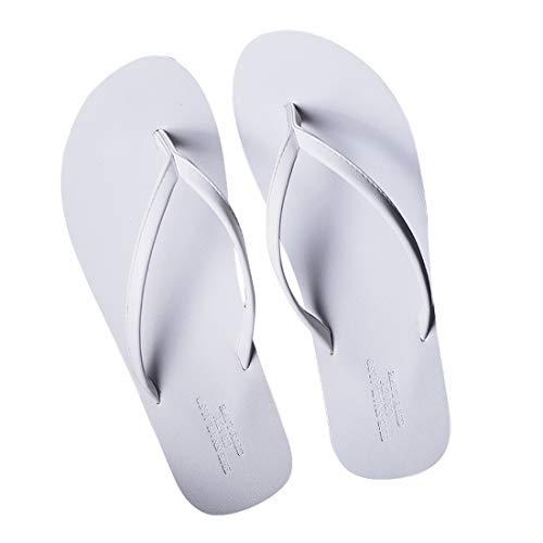 Lieyliso Herren-Flip-Flops Sandalen für drinnen oder draußen für den Strand (Color : White, Size : 39-40) - Pool Bilder Hall