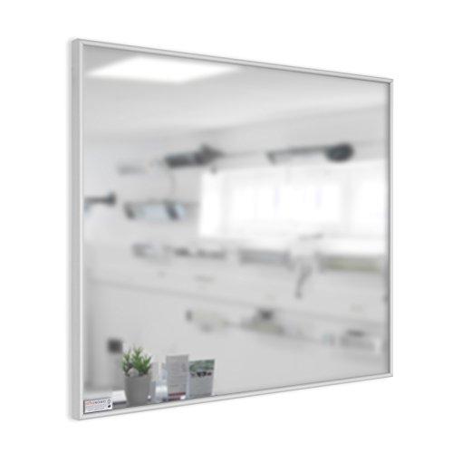 Infrarotheizung Spiegel mit Alurahmen, 900 Watt