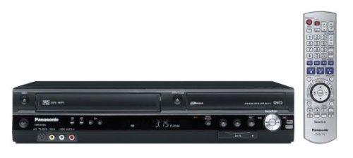 Panasonic DMR-ES 35 VEGK DVD VHS Recorder Farbe schwarz - Panasonic Dvd-vhs-player