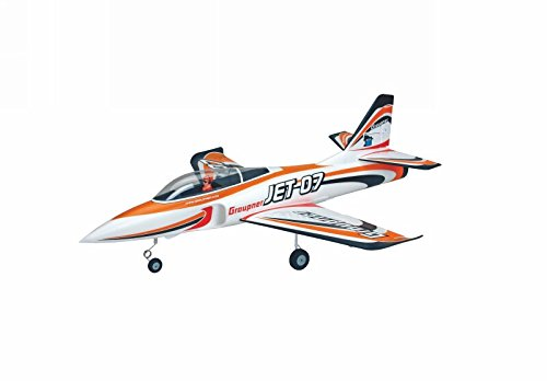 Graupner 9934.100 Motor eléctrico Avion RC - Aviones RC (Fighter aircraft, Almost-Ready-to-Fly (ARTF), Motor eléctrico, Multicolor, Sin escobillas, JET 07)