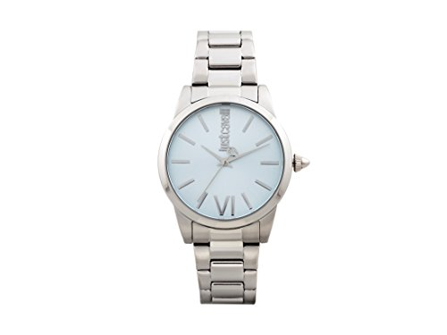 Just Cavalli Women's Analogue Quartz Watch with Stainless Steel Strap JC1L010M0095