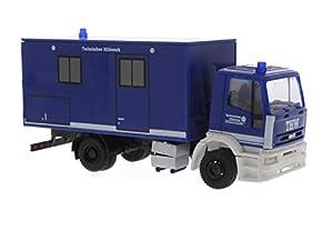 Rietze 60643Iveco Eurotech Koffer THW Bremen camión Modelo