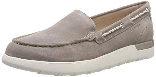 Stonefly Saryn 1 Velour, Mocassini (Loafer) Donna, Marrone (Taupe Brown 075), 38 EU