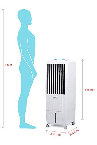 Symphony Diet 12T 12 Litre Personal Air Cooler (White) - with i-Pure Technology