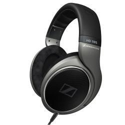 Sennheiser HD 595 Circumaural Negro - Auriculares (Circumaural, Alámbrico, 12-38500 Hz, 112 dB, 3 m, Negro)