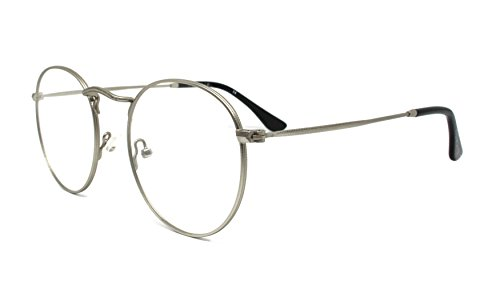 Nowave occhiali neutri per pc, tablet, tv e gaming. eliminano stanchezza e irritazione visiva | occhiali riposanti anti luce blu 40% e uv 100%. filtro monitor computer- emily