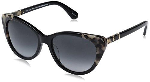 Kate Spade Sherylyn/S WR79O Black Havana Sherylyn/S Cats Eyes Sunglasses Lens Category 3 Size 54mm