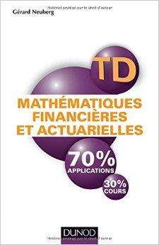 Mathématiques financières et actuarielles - TD d...