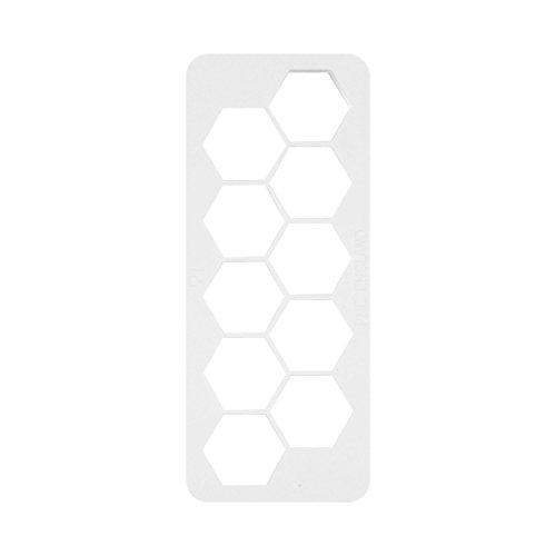PME Geometric Multi Cutter für Kuchen Design–Sechseck, Medium Seite, 1