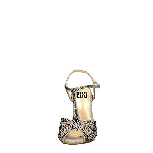 Bibi Lou 625Z00VK Pumps Sandale Damen Grau