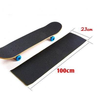 Aufkleber, Bänder Skateboard (stickerslab Verdunkelungsfolie–Klebestreifen schwarze Antirutsch-Beschichtung Skateboard/Snowboard 230mm x 1mt)
