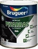BRUGUER PINTURA PIZARRAS 0,750 LT. (Negro)