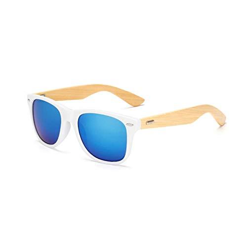 Sport-Sonnenbrillen, Vintage Sonnenbrillen, 17 Color Wood Sunglasses Men Women Square Bamboo Women For Women Men Mirror Sun Glasses Retro De Sol Masculino Handmade