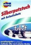 DELU Silberptuztuch mit Anlaufschutz