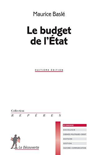 Le budget de l'État par Maurice Baslé