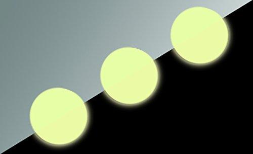Bradyid glow-in-the-dark anti-skid Dots, dimensioni: diametro 95mm