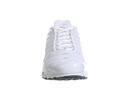 Nike Herren Air Max Plus Laufschuhe Blanco (white/white-black-cool grey)