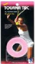 Tourna Grip Tac Pink, 3er Griffbänder für Tennis